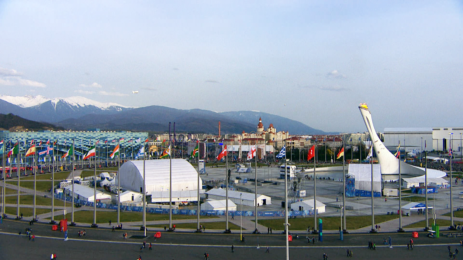 ΒLONDE and Elias Ledakis as Production Designer- Art Director and Set Designer, following an international call for tender, were appointed as Contractors for the MEDALS PLAZA – Sochi 2014 Winter Olympic Games